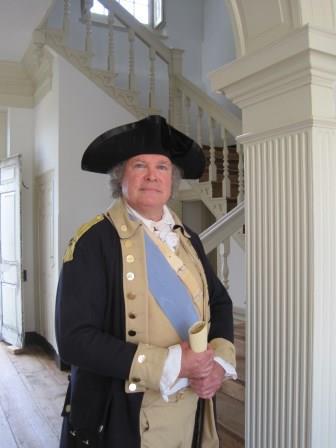 photo of Bill Agress as General George Washington