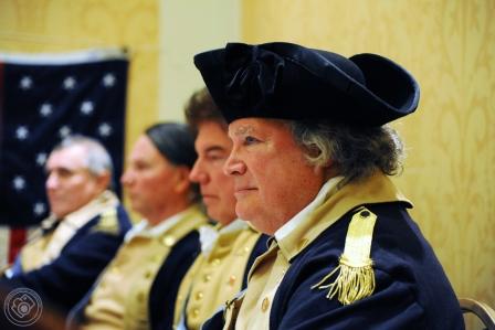 Bill Agress as George Washington