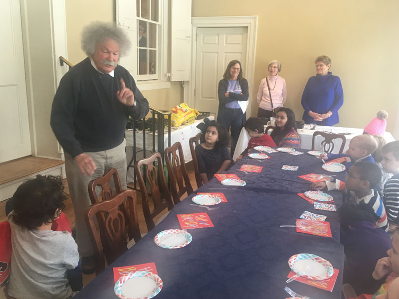 einstein surprise party at morven